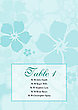 Tiffany Hibiscus Table Tent