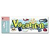 Vacation Title Stickers