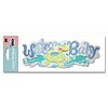 Water Baby Title Sticker
