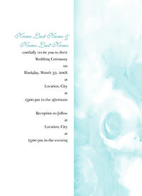 Lokelani Rose Invitation
