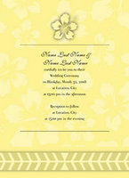 Hibiscus Icon Invitation