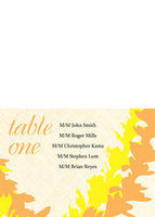 Lei Weave Table Tent Card