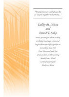 Elegant Palm Border Invitation