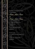 Elegant Hawaiian Impression Invitation