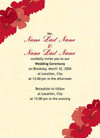 Hibiscus Lei Invitation