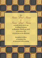 Elegant Quilt Invitation