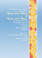 Colorful Layers Invitation