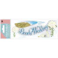 Beach Wedding Title