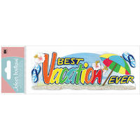 Best Vacation Ever Sticker