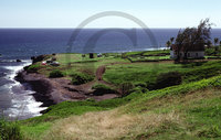 Hawaiian Island View – East Side Maui Clip Art