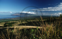 Hawaiian Island View – Upcountry Maui Clip Art