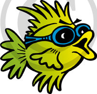Hawaiian Fish Illustration 2 Clip Art