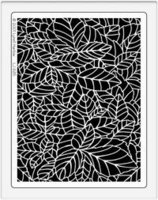 Jungle Leaves Stencil