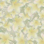 A03 Yellow Plumeria Scatter Large