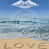 CC01 Love on the Beach 8x8 Paper