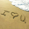 CC07 I Love You in Sand