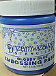 Glossy Blue Embossing Paste