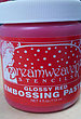 Glossy Red Embossing Paste