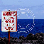 P11 Warning Blow Hole