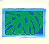 Blue Monstera Gift Card