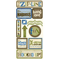 Zipline Sticker