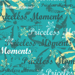 C19 Priceless Moments Words 8x8 Paper