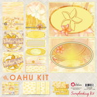 12x12 Oahu Scrapbook Kit