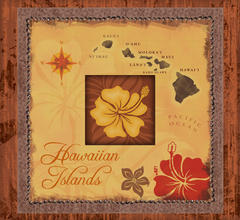 Hawaiian Islands 8x8 Album
