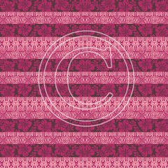 G20 Hot Pink Hibiscus Wallpaper Lines 8x8 Paper