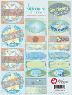 Molokini Journal Stickers