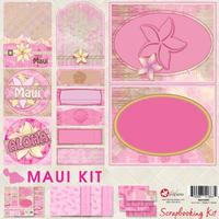 8x8 Maui Scrapbook Kit