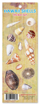 Hawaii Shells Sticker Set