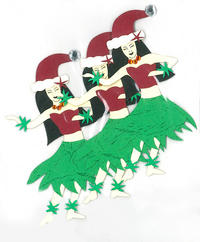 Hula Girls Holiday Laser Cut