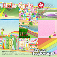 12x12 Hula Girls Kit
