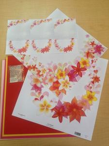 Plumeria Brilliance Scrapbook Kit