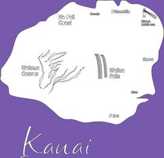 12 Kauai Destination Laser Cut