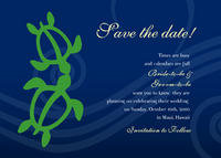 Honu Duet Save The Date Card