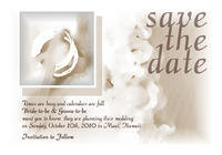 Kuuipo Rings Save The Date Card