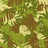 M04 Monstera Military Camouflage