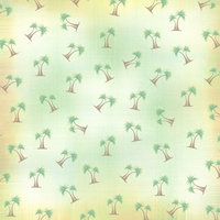 M09 Palm Tree Scatter 8x8 Paper