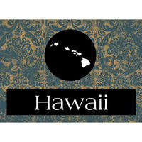 Hawaii State Patchwork Brad