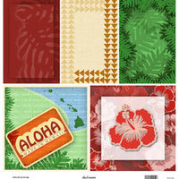 D07 Aloha Set Journal Tags