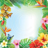 J01 Tropical Flowers 1