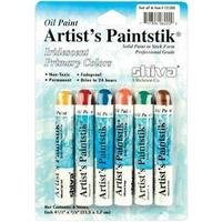 Oil Paint Artist's Paintstik Iridescent Primary Colors