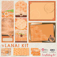 12x12 Lanai Scrapbooking Kit