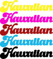 Hawaiian Word