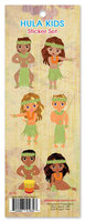 Hula Kids Sticker Set