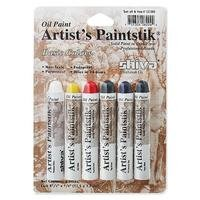 Oil Paint Artist's Paintstik Basic Colors