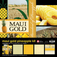 12x12 Maui Gold Scrapbooking Kit