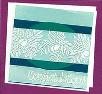 Congratulations Breadfruit Greeting Card
